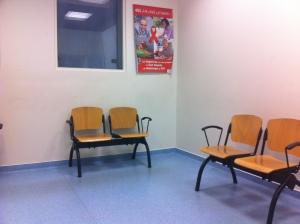 Salle d'attente de Bichat